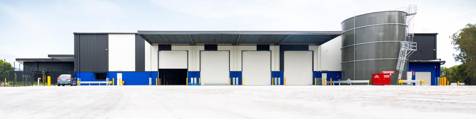 Air Menzies International Completed Warehouse Brisbane Airport