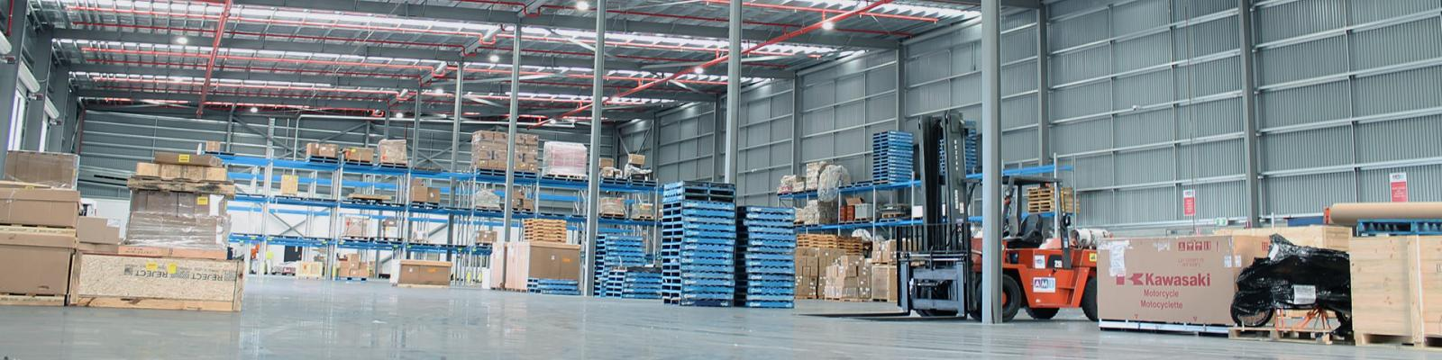Air Menzies International Fitted Warehouse