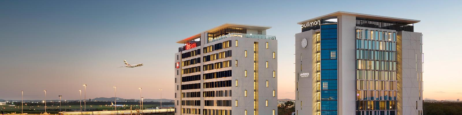 Pullman and Ibis Hotel at Brisbane Airport